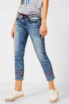 street one slim fit jeans blauw