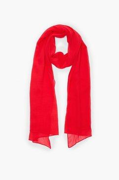 s.oliver gestreepte geweven sjaal rood