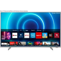 philips »70pus7555« led-tv zilver
