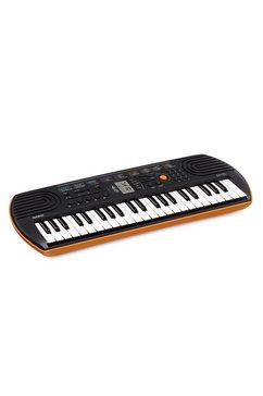 casio keyboard mini-keyboard sa-76 met 44 minitoetsen oranje