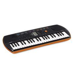 casio mini-keyboard sa-76 oranje