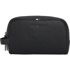 tommy hilfiger make-uptasje »essential washbag« zwart