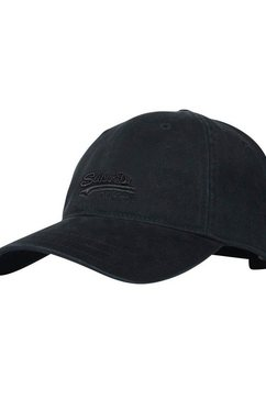 superdry baseballcap zwart