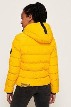 superdry functioneel jack »spirit puffer icon jacket« geel