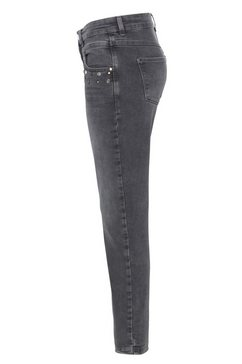 mac slim fit jeans »dream slim glam« grijs