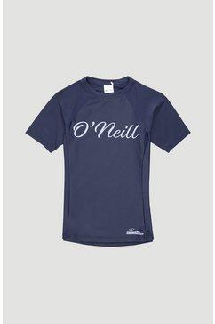 o'neill functioneel shirt »logo skins« blauw