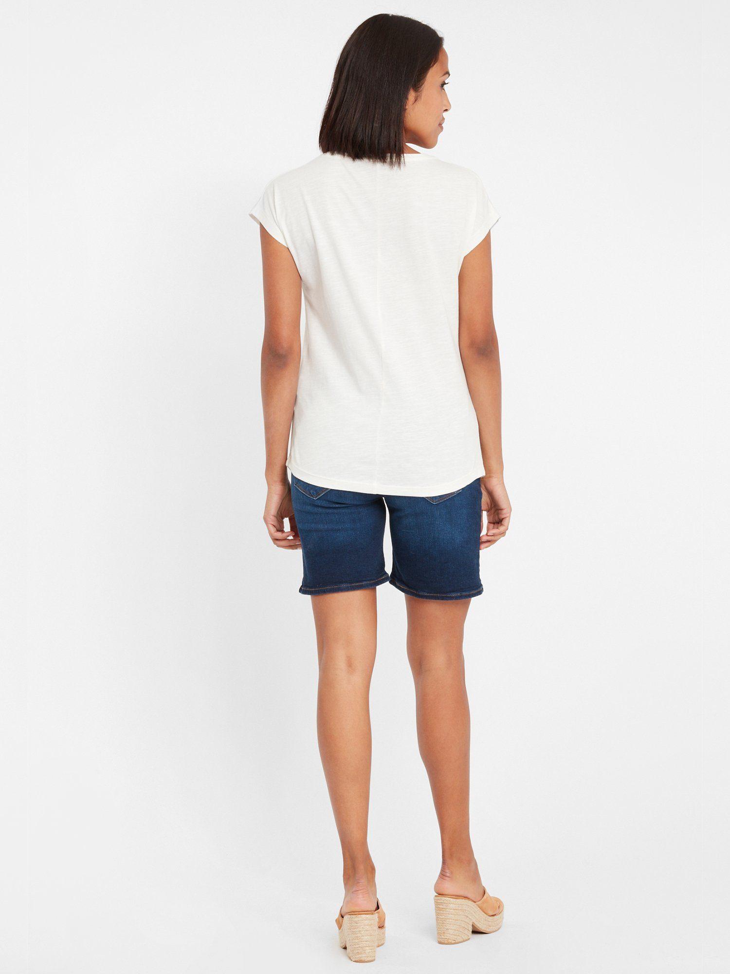 Cross Jeans T-shirt 55678 Vind Je Bij - Geweldige Prijs