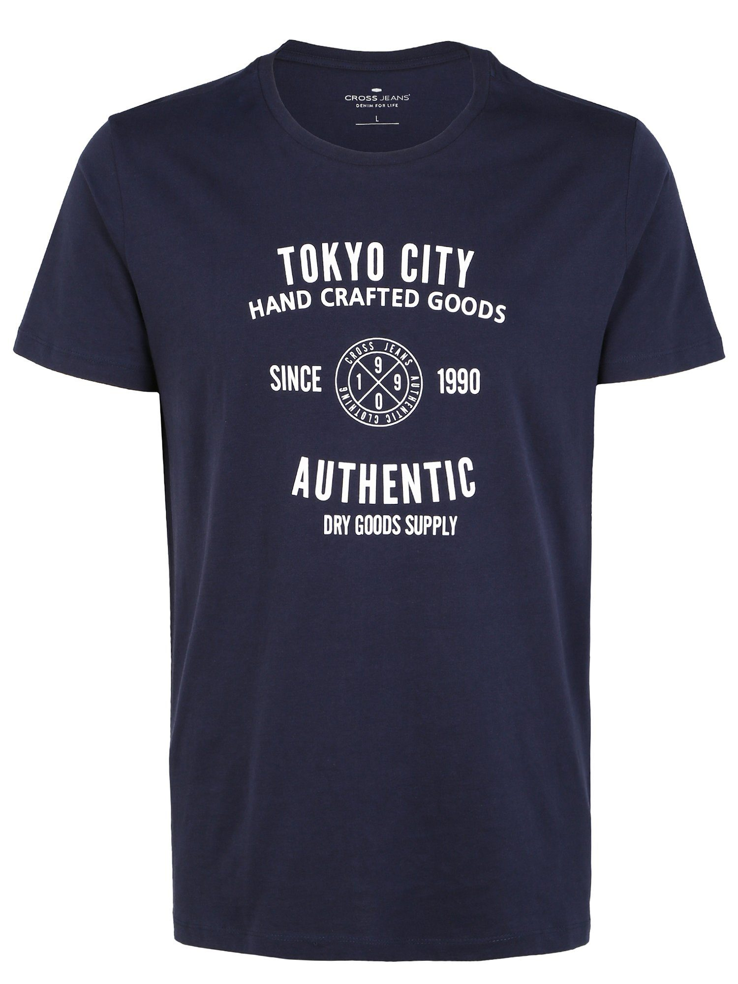 Cross Jeans T-shirt 15567 Online Shoppen - Geweldige Prijs