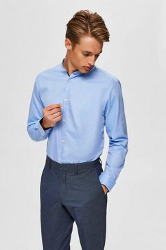 selected homme overhemd met lange mouwen »slim mark shirt«