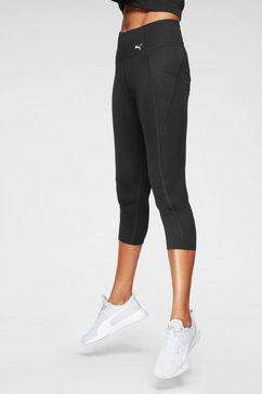 puma functionele tights zwart