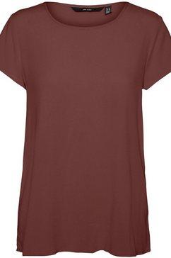 vero moda shirtblouse vmbecca bruin