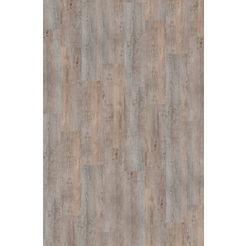 infloor tapijttegel »velour holzoptik vintage grau«, zelfklevend 25 x 100 cm grijs