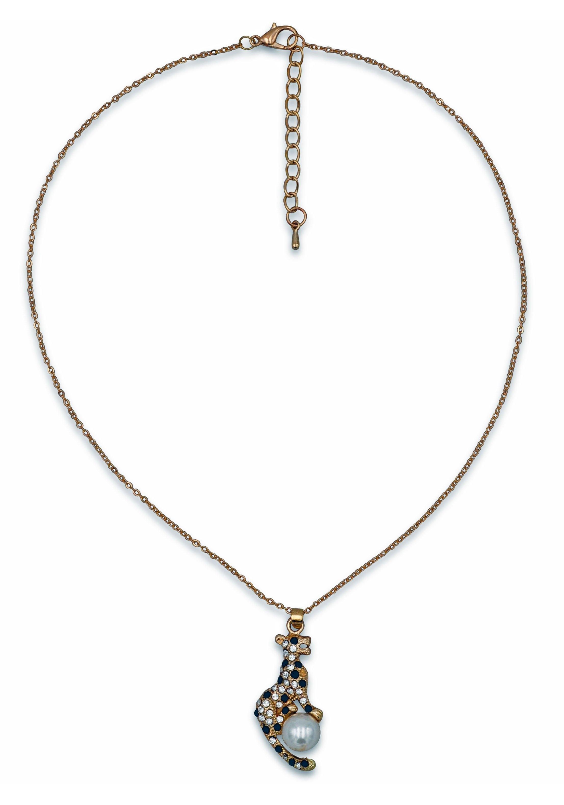 Op zoek naar een J.Jayz ketting met hanger Leopard met glassteentjes en glaskraal? Koop online bij OTTO