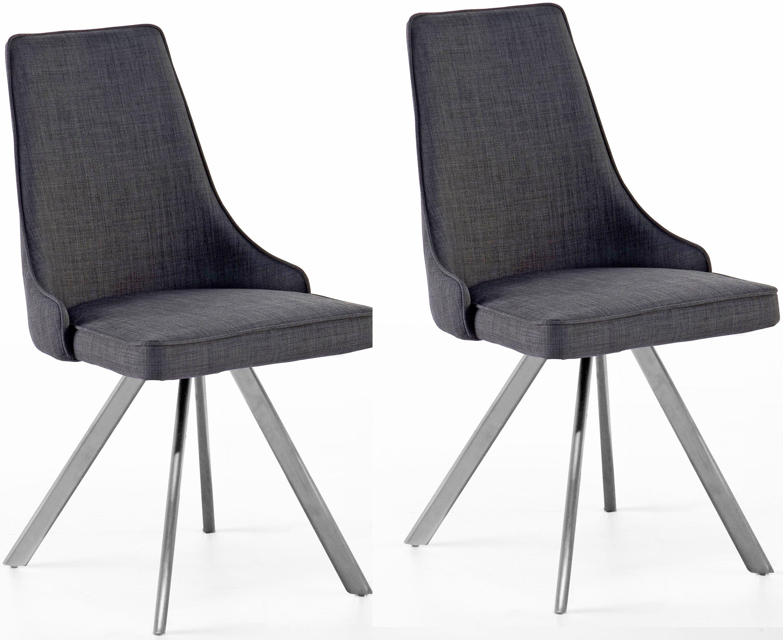 MCA furniture eetkamerstoel Elara B 180° draaibaar met retourveer, belastbaar tot max. 120 kg (set, 2 stuks) nu online kopen bij OTTO
