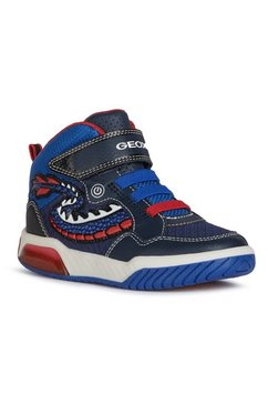 geox kids sneakers schoenen inek boy met veelkleurige loopzool blauw