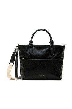 desigual tas met mooie perforatie zwart
