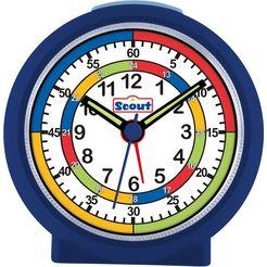 scout kwarts-wekker learnthetime, 280001010 blauw