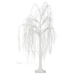 andas led-boom trauerweide voor binnen en buiten wit