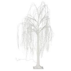 andas led-boom treurwilg voor binnen en buiten wit