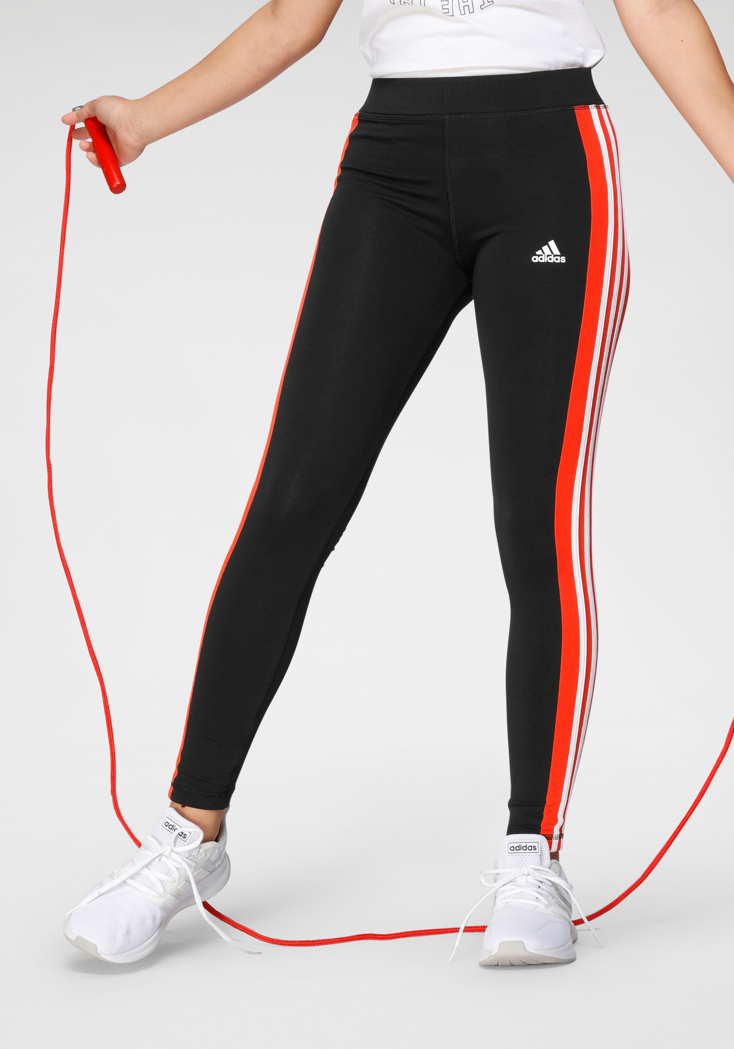 adidas Performance legging »YOUTH GIRL LINEAR 3 STRIPES TIGHT« online kopen op otto.nl