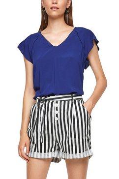 q-s designed by shirtblouse met kapmouwtjes blauw