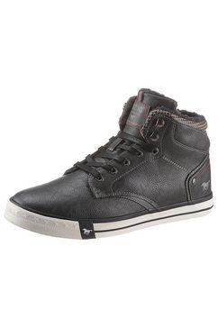 mustang shoes winterlaarzen met rits aan de binnenkant grijs