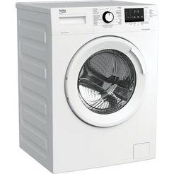 beko vrijstaande wasmachine (9 kg, 1400 rpm) wtv9722xsw1