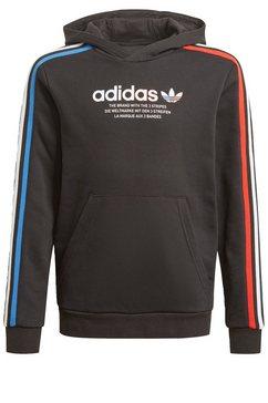 adidas originals hoodie »adicolor« zwart