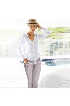 linea tesini by heine kanten blouse wit