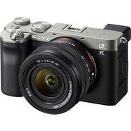 sony full-frame digitale camera ilce-7cls - alpha 7c e-mount met sel2860 fe 28–60 mm f4–5,6, 24,2 mp, 4k video, 7,5 cm (3 inch) touchscreen, realtime-af, 5-assige beeldstabilisatie, nfc, bluetooth zwart