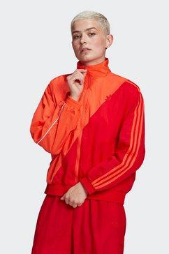 adidas originals trainingsjack adicolor sliced trefoil japona tracktop rood