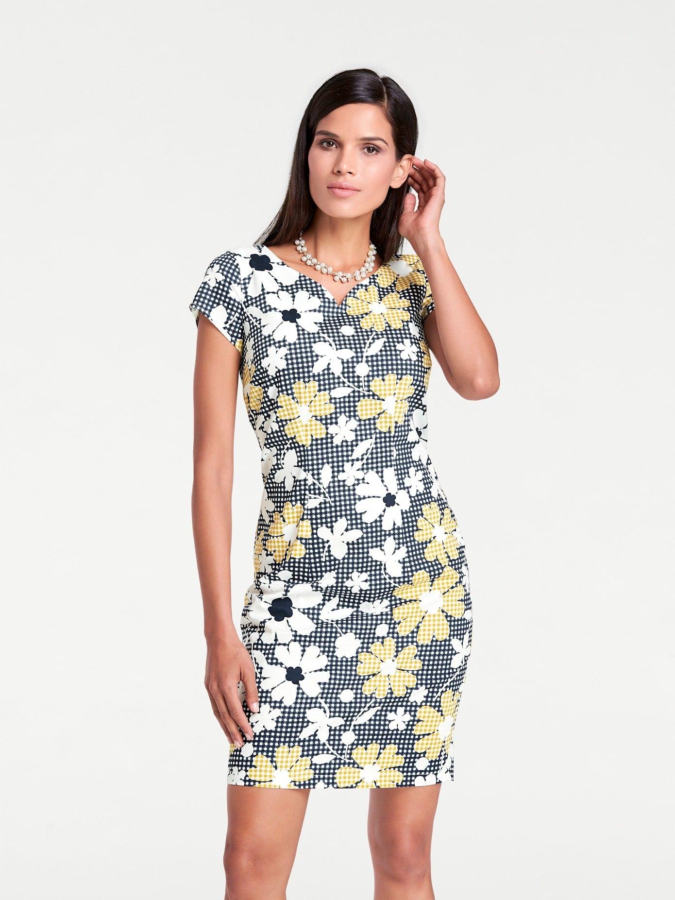LINEA TESINI by Heine gedessineerde jurk in de webshop van OTTO kopen