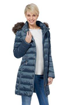 wega korte jas blauw