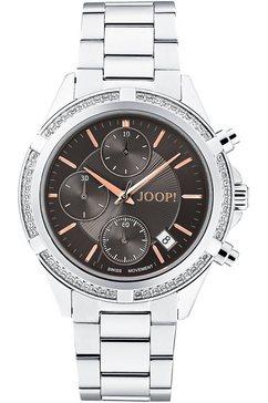 joop! chronograaf 2030891 zilver