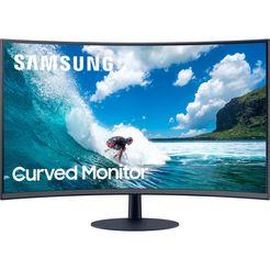 """samsung gaming-monitor c32t550fdr, 80 cm - 32 """", full hd grijs"""