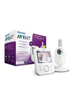 philips avent video-babyfoon scd843-26 wit