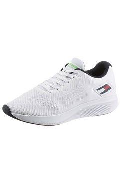 tommy sport sneakers ts sport 3 met merklabel opzij wit