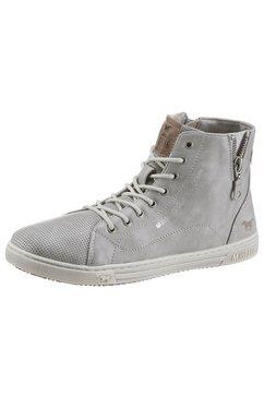 mustang shoes hoge veterschoenen blauw