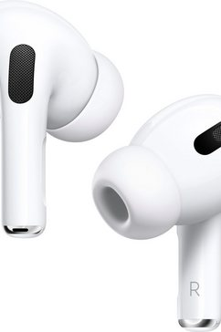 apple in-ear-hoofdtelefoon airpods pro met wireless case - mwp22zm-a compatibel met iphone, iphone xr, iphone mini, ipad air, ipad mini, ipad pro, watch se, series 6, series 5, series 4, series 3, mac mini, imac wit