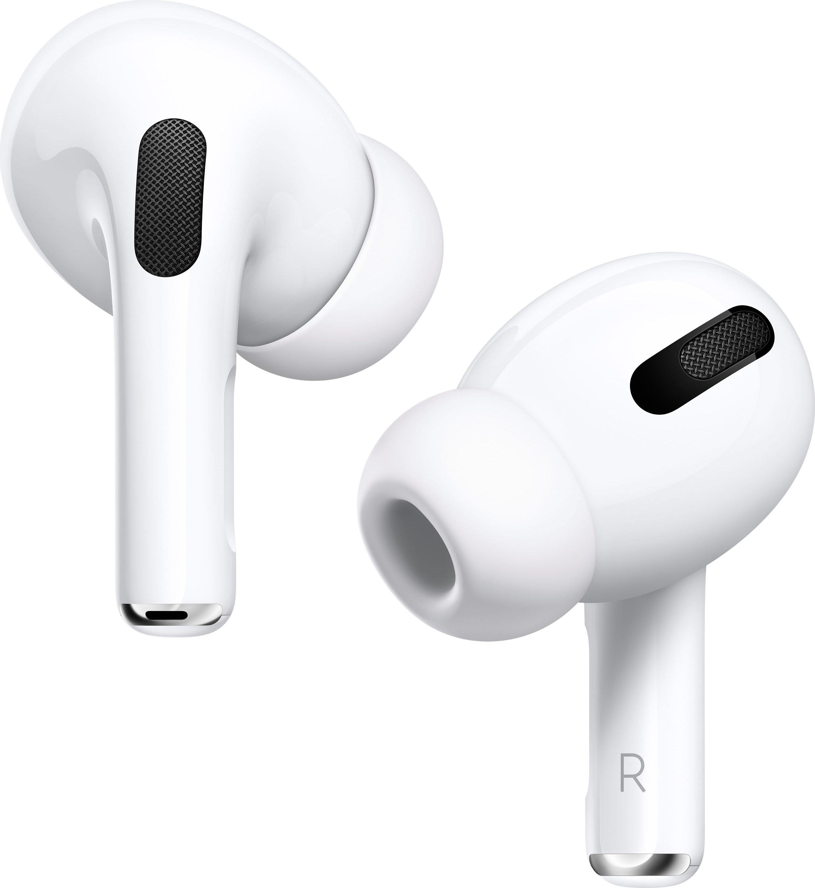 Apple in-ear-hoofdtelefoon AirPods Pro met Wireless Case / MWP22ZM/A compatibel met iphone, iphone xr, iphone mini, ipad air, ipad mini, ipad pro, watch se, series 6, series 5, series 4, series 3, mac mini, imac veilig op otto.nl kopen