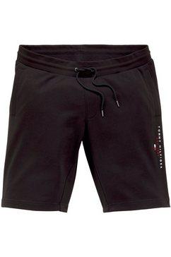 tommy hilfiger sweatshort bt-essential tommy sweatshort zwart