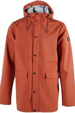 brunotti softshell-jack »hector« oranje