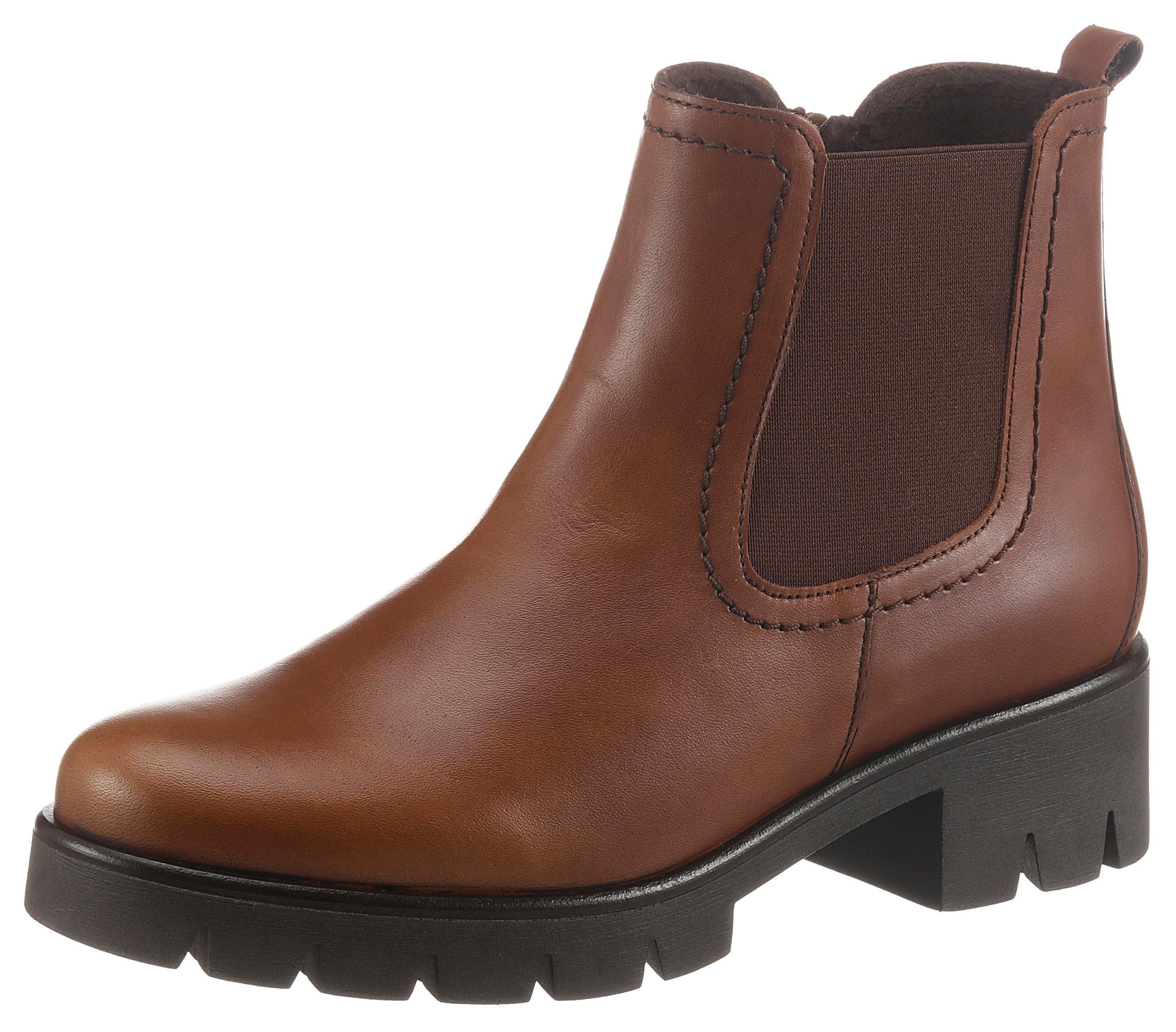 Gabor Chelsea-boots met trendy profielzool nu online bestellen
