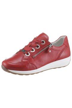 ara sneakers osaka in prettige schoenwijdte g rood