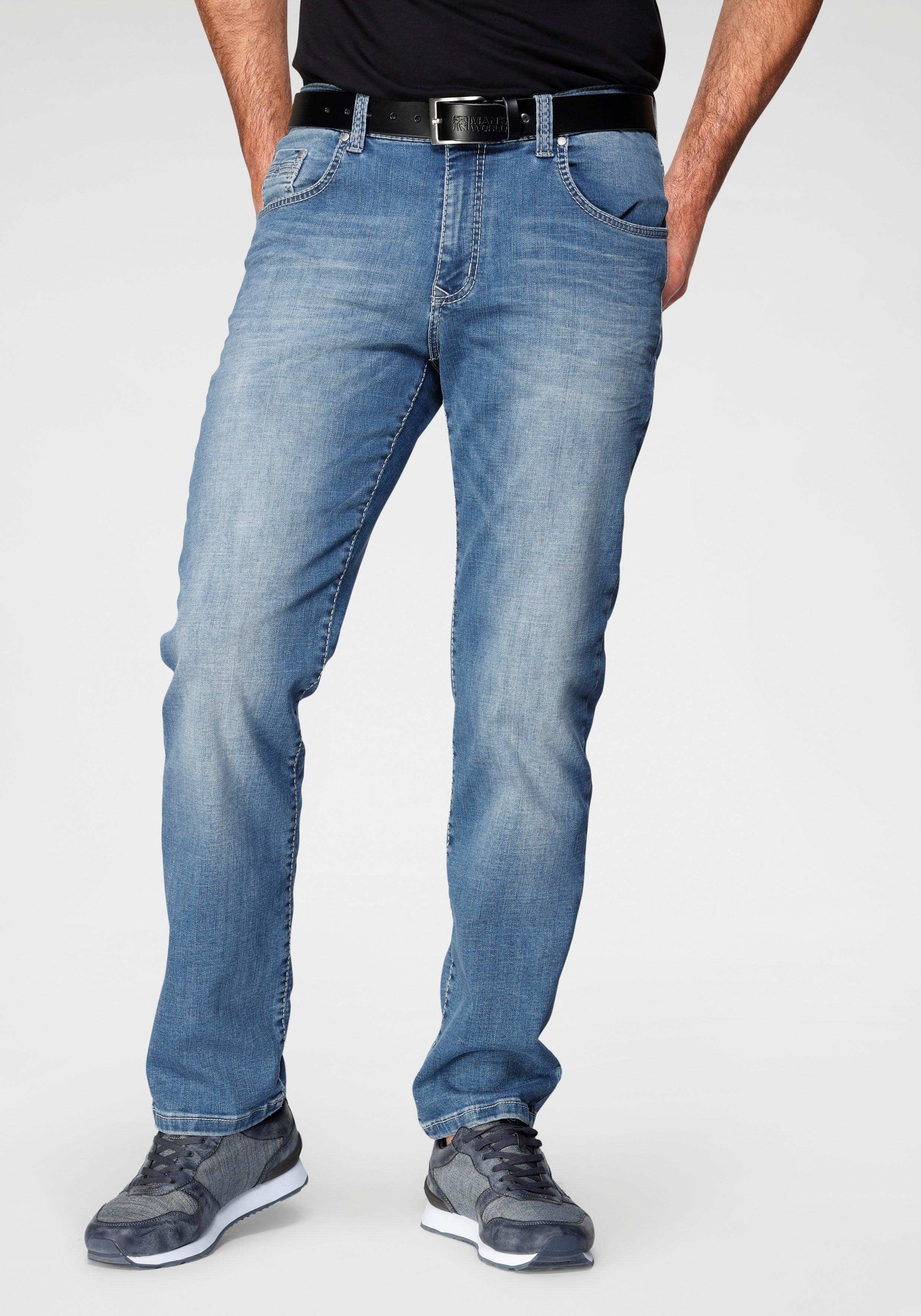 Pioneer Authentic Jeans straight jeans Rando Lichte used-effecten bij OTTO online kopen
