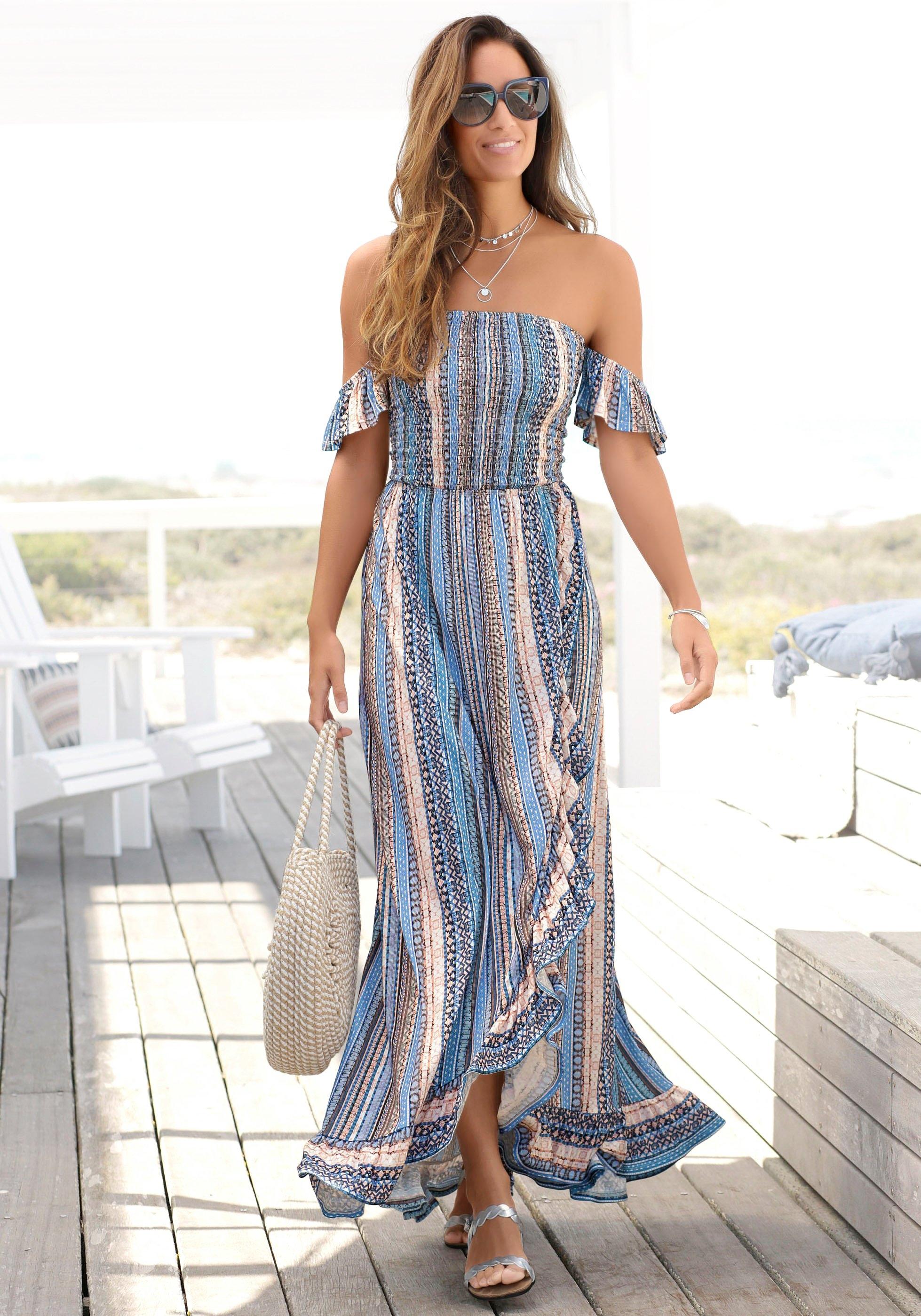 Lascana maxi-jurk met bandjes achter nu online bestellen
