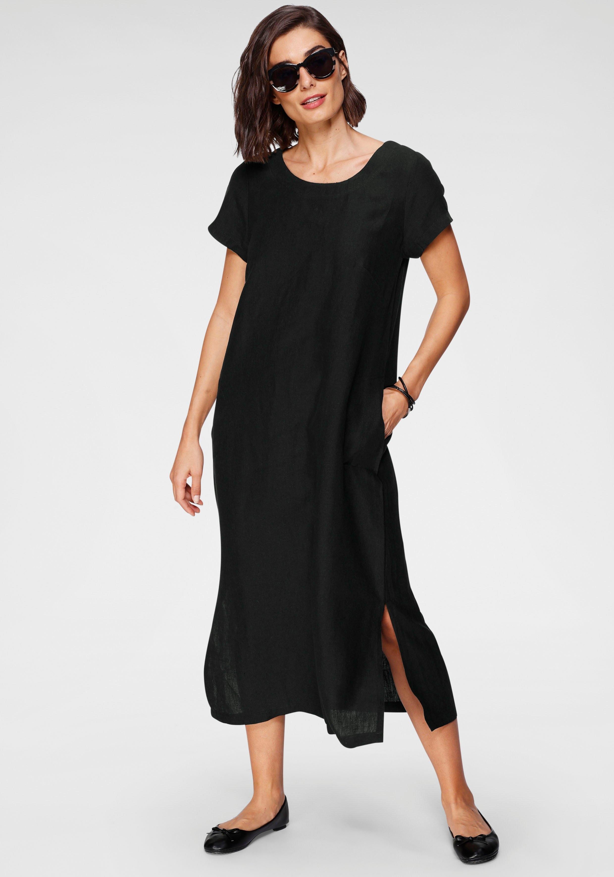 SAMMER Berlin zomerjurk linnen jurk, korte mouwen nu online bestellen