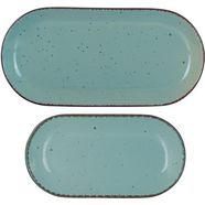 arte viva serveerblad puro aanbevolen door topkok thomas wohlfarter (set, 2-delig) blauw