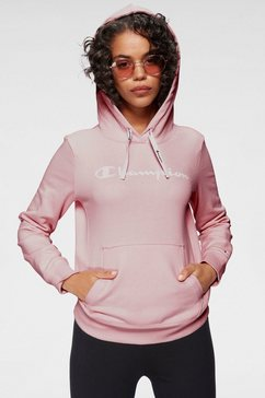 champion hoodie hooded sweatshirt roze