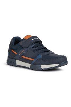 geox kids sneakers j alfier boy met uitneembare leren binnenzool blauw